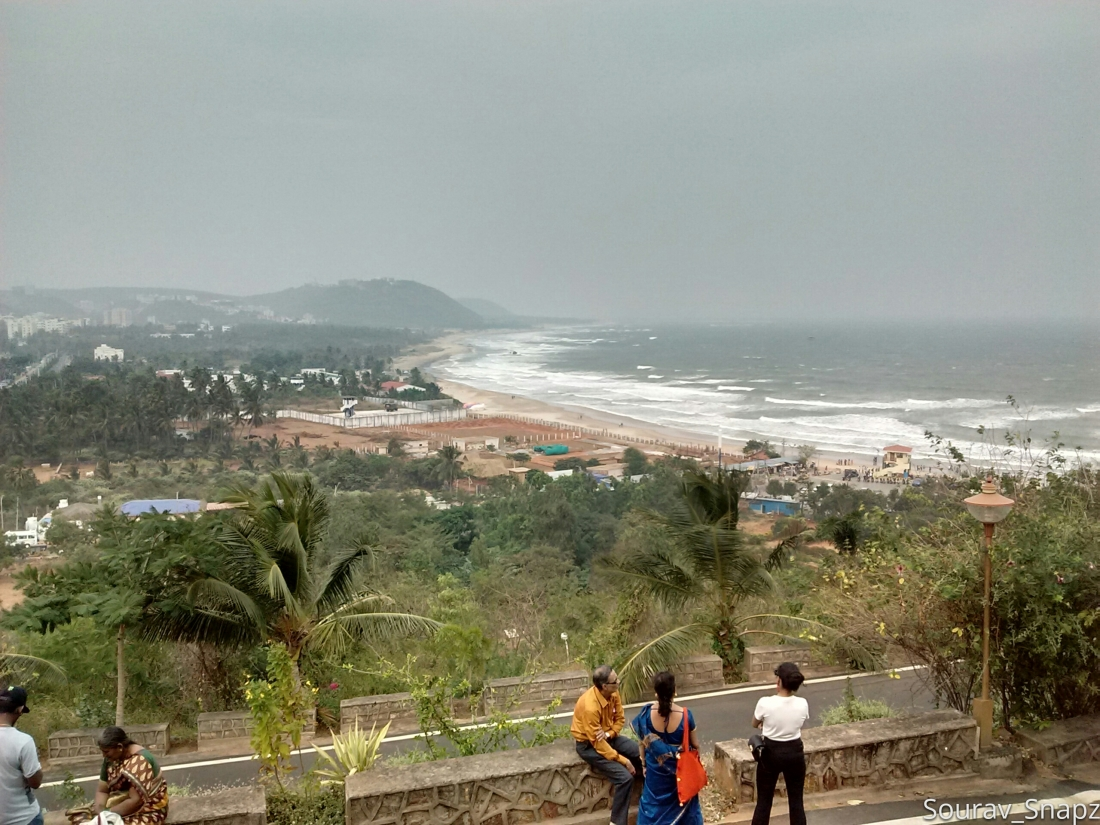 Rushikonda beach from Haritha Resort